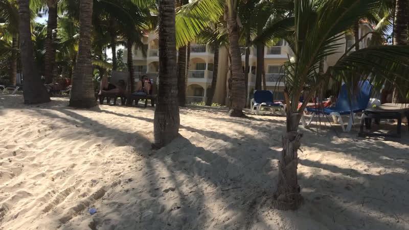 Пляж 🏖 Отеля Occidental Caribe