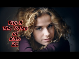 Top 5 - The Voice of Kids 21