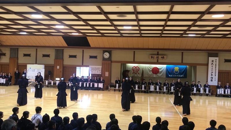 2019年神奈川県警察剣道特練の基本稽古
