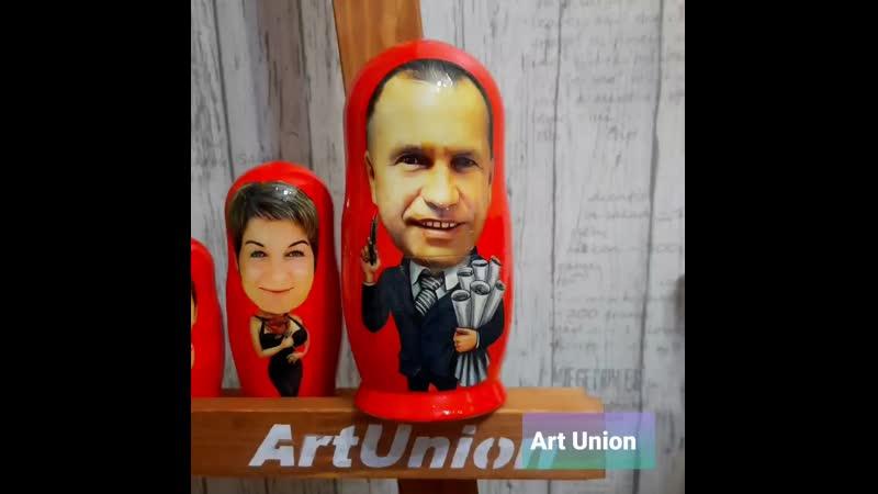 Фото матрешки 💥 от art union