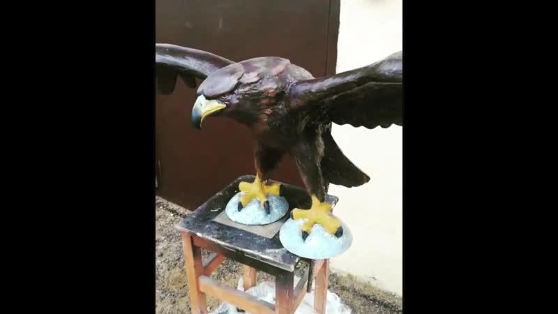 Скульптура орла Орёл статуя