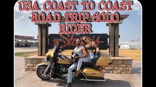 Coast To Coast Florida/Pacific Coast WA USA 6851 miles 11000km