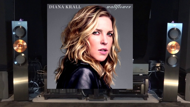 Arcam P49 Diana Krall The Wall Flower Live Recording Amplifier Review Kef