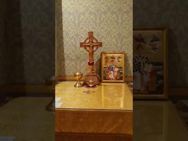 Фрагмент Утрени древним древнерусским чином старым обрядом общины единоверческой церкви Санкт Петербурга