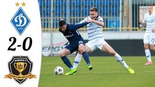 🔥 Динамо Киев - Днепр-1 2-0 - Обзор Матча Чемпионата Украины 10/04/2021 HD 🔥