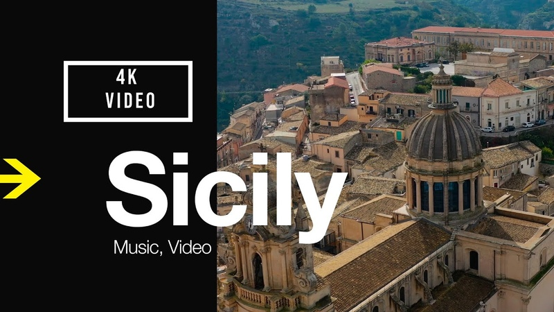 SICILY Italy Travel Music Video Tour | Drone 4k