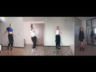 1. Команда «Blue-ray»(рук. К. Шилько), танец «BVNDIT –Dumb» Царик Валентина, Блинова Полина, Николаева Юлия, Пикулина Дарья