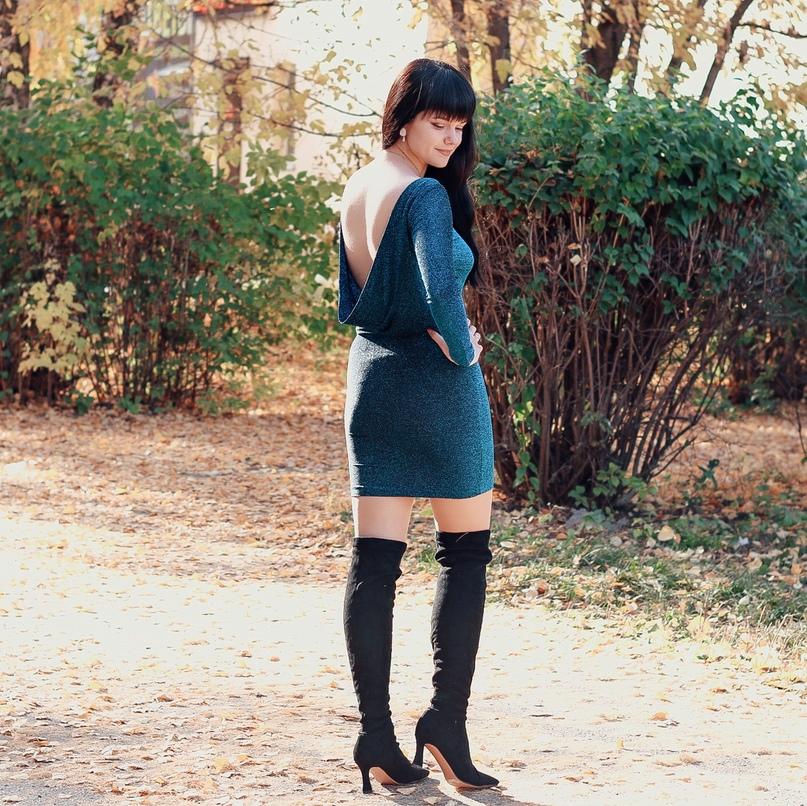 Платье с открытой спиной #GRANBELLA