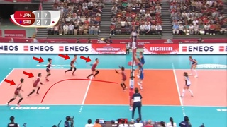 The Reason Why Japan is the Most Disciplined Volleyball Team in the World (HD)