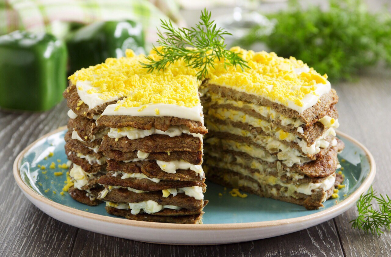 ✅ Бауыр пирогы ✅    🔸 500-600 гр Бауыр  🔸 2-3 жуа  🔸 2-3 сəб