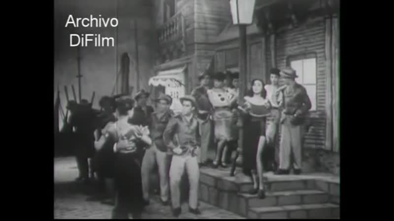 Tita Merello canta El choclo La historia del Tango 1949