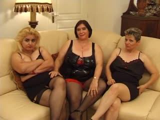 Olga - On est vieilles mais on est bonnes [3 on 2, Anal, BBW, Big Tits, Blowjob, Facial, French, GILF, Granny, Mature, MILF]