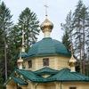 Храм на Левашовском мемориальном кладбище.