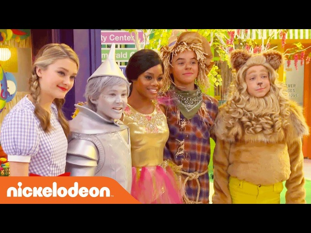 BTS w Lizzy Greene, Tia Mowry More on the Wizard of Quads Set! | NRDD | Nick
