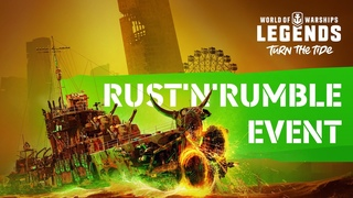 World of Warships: Legends – Rust 'n' Rumble