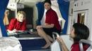 Как и где отдыхают стюардессы во время дальних перелетов