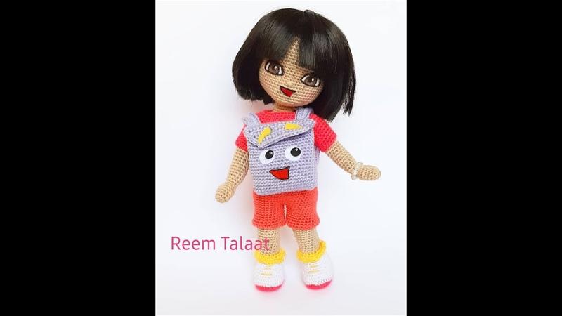 Dora amigurumi part 3 الجزء الثالث من دمية❤ دورا