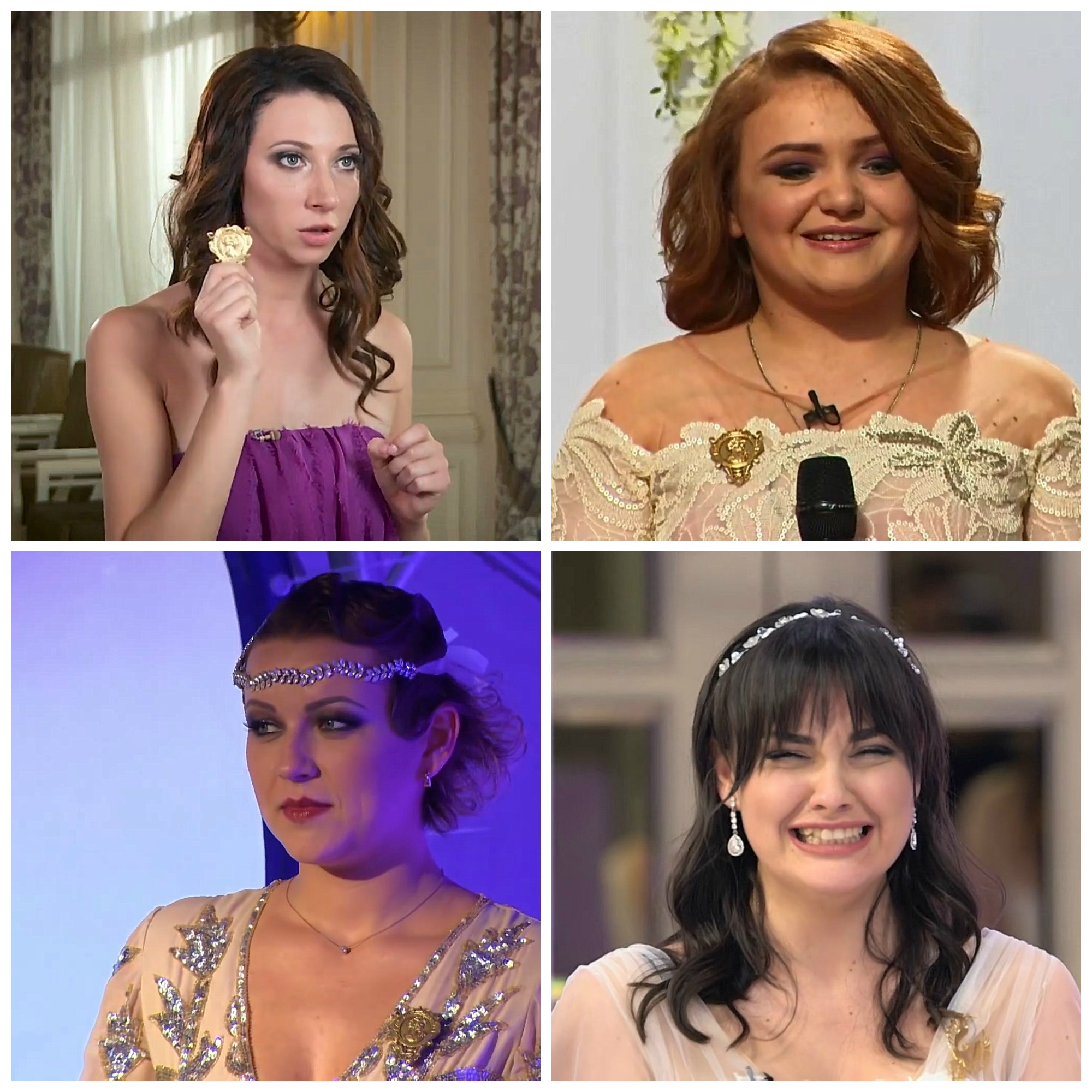 Вiд пацанки до панянки - победительницы всех сезонов фото с золотыми брошками