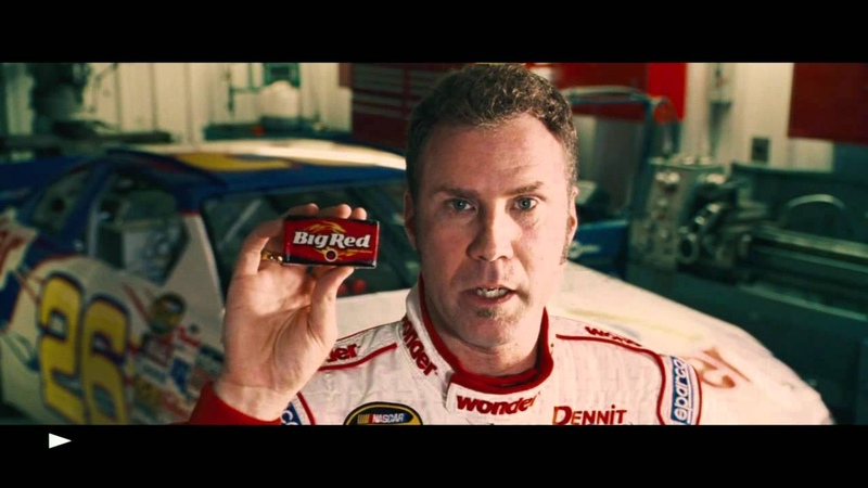I'm Ricky Bobby If You Don't Chew Big Red Then F**k You