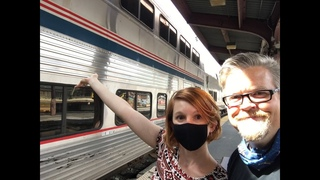 """Traveling by Train from Washington D.C. to Chicago on Amtrak's """"Capitol Limited"""""""