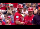 Bryce Harper's first hit with Phils ©