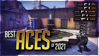 THE BEST PRO ACES OF 2021 IN CS:GO! (INSANE PLAYS!)