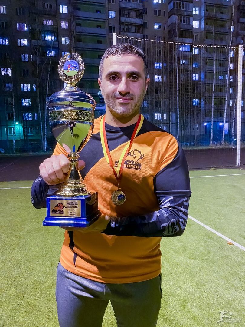 Эдгар Кержонян (Бизоны) - чемпион дивизиона Фукалова.