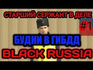 📌#1 Будни ГИБДД на Black Russia || патруль города || CRMP mobile!!!