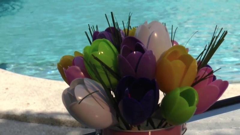 Hermosos Tulipanes con Cucharas - Fácil Con Amor.
