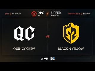 Quincy Crew vs Black N Yellow, Dota Pro Circuit 2021 NA S2, bo3, game 2 [Eiritel & Lost]