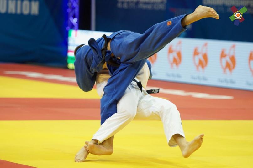 Валерий Ендовицкий бронзовый призёр первенства Европы по дзюдо до 21 года в Хорватии, изображение №7