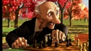 мультфильм Disney Игра Джери Короткометражки Студии PIXAR том1 про шахматыСтаричок с шахматами